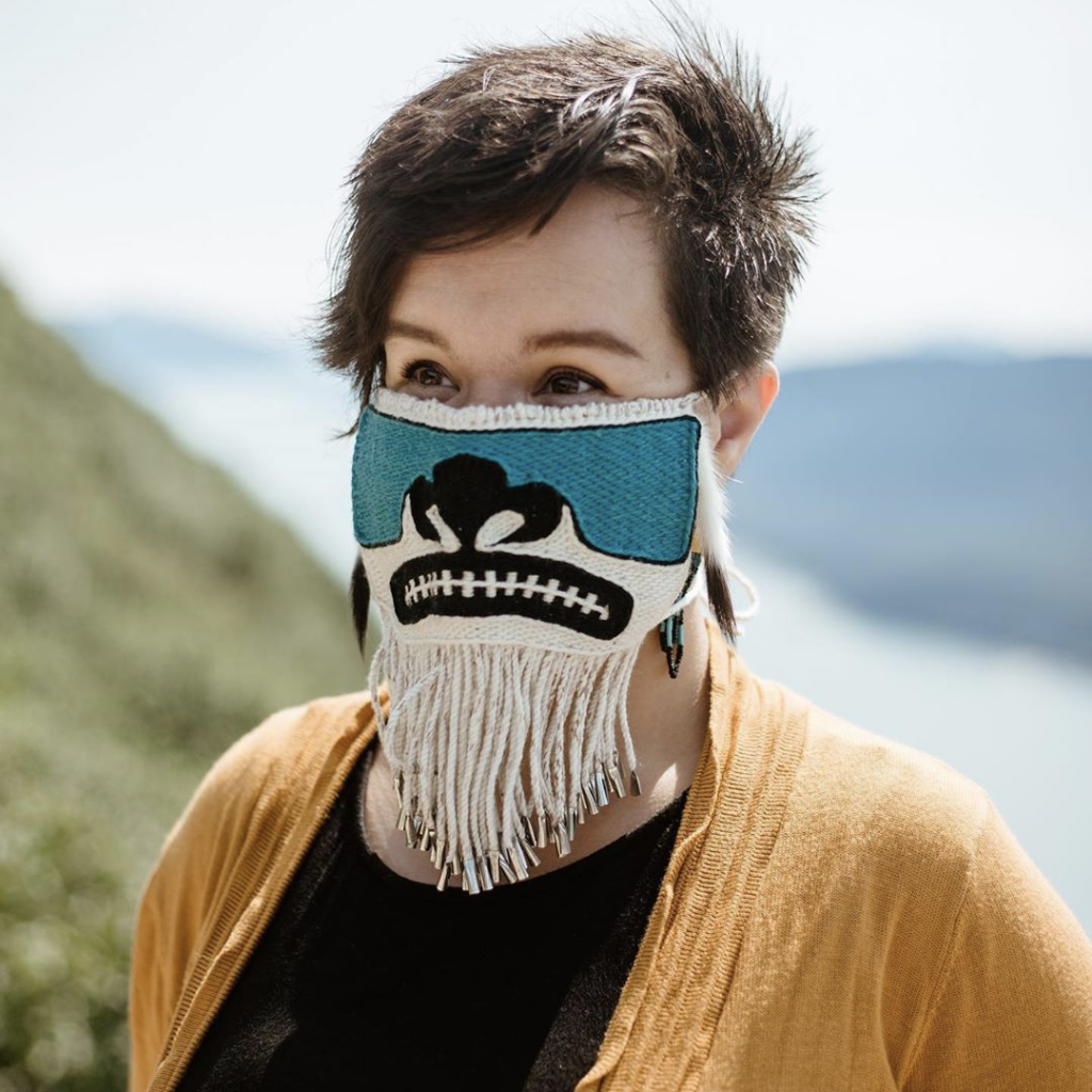 Lily Hope Chilkat Mask
