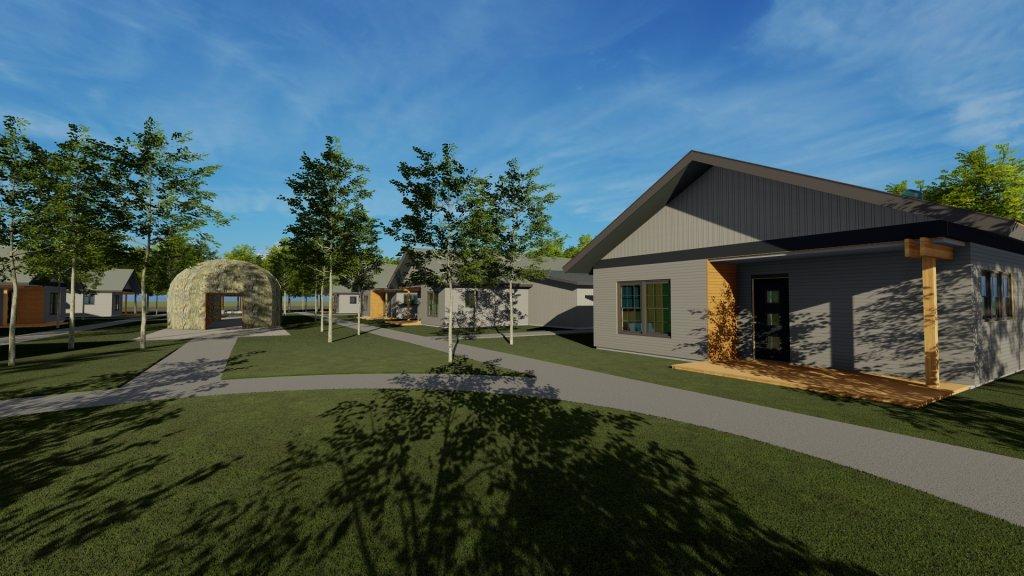 Bay Mills Courtyard Concept